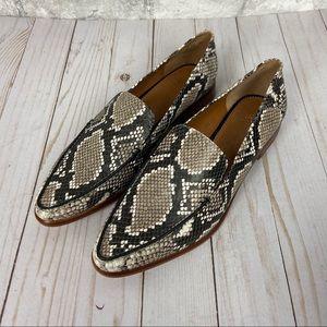 Franco Sarto Snake Print Portia 2 Loafers